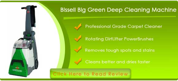 Bissell Big Green Deep Cleaning Machine Professional Grade Carpet Cleaner, 86T3